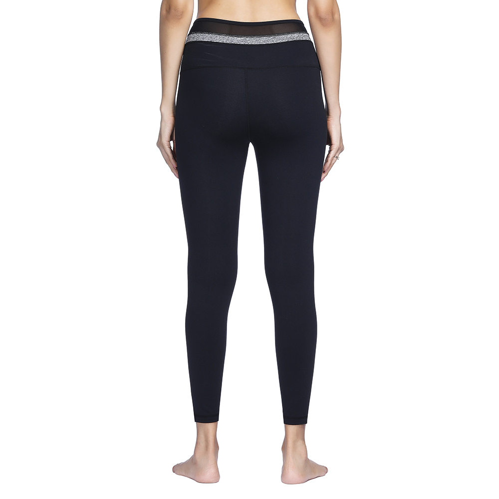 d8748aead0 LUKITAS Fitness Women Black Mesh High Elastic Hip Push Up Yoga Pants Quick  Dry Breathable Running Gym Tight Stretch Legging | Oceania
