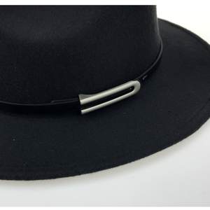 Image 5 - Wide Brim Autumn Trilby Caps Female Male Fashion Top Hat Jazz Cap Winter Panama Hat Vintage Fedoras Men Mafia Hat Felt YY17294