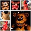 1 Шт. 25 СМ Пять Ночей В фредди 4 Fnaf Фредди Fazbear медведь Плюшевые Игрушки Куклы Бонни Кролик Чика Чучела Животных Рождественские Подарки