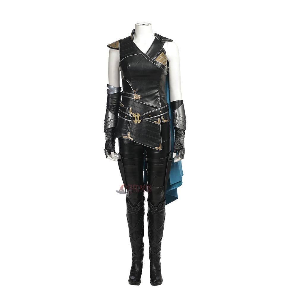 Athemis Movie Thor Ragnarok Valkyrja Cosplay  Gamora  full set  Costumes high quality custom made