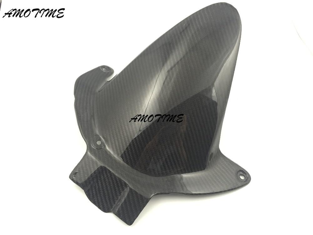 Fibre de carbone garde-boue arrière Pour Honda CBR600RR 2007-2012 F5 08 09 10 11