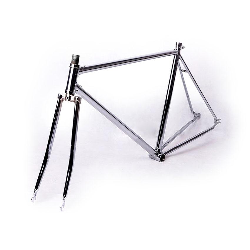 700c frame 52cmsliver fixed gear bike frame 2015 p