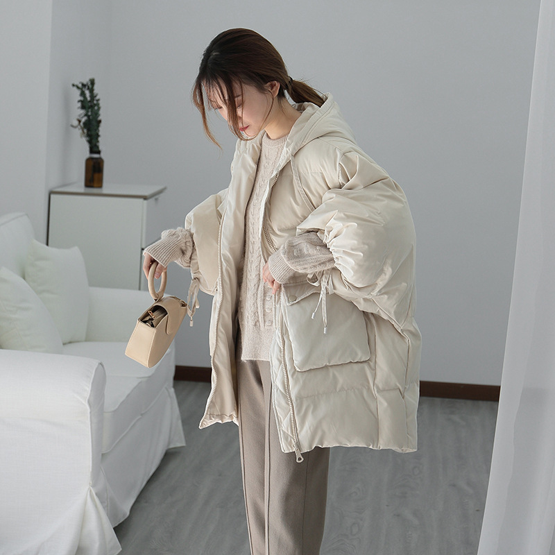 Vêtements Noir Chaud Le Lanterne blanc Rembourré Bas Manches Coton Vers Shintxxx zRfFc8WqR