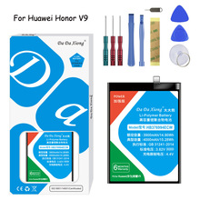 Original Da Xiong Lithium Polymer Battery HB376994ECW For Huawei Honor V9 4000mAh Replacement Mobile Phone Free Tools
