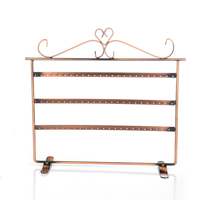 Free Shipping 128 Hole Earrings Ear Studs Jewelry Display Rack Metal Stand Holder Showcase Hot Selling