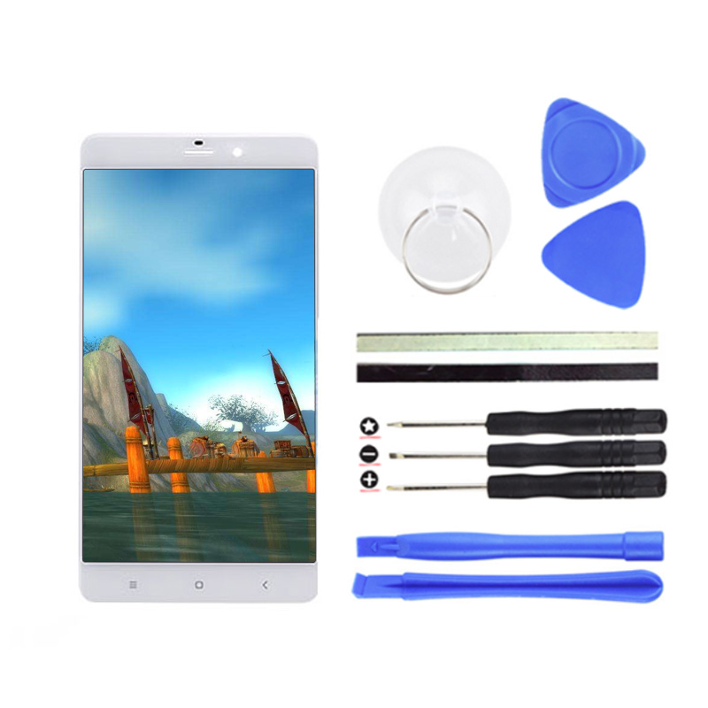 For Xiaomi MI Note LCD Display + Digitizer Touch Screen Replacement For Xiaomi MI Note Pro Cell Phone Parts + Free Tools