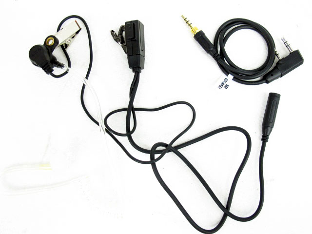 Communication Gear Z-Tactical Z129 FBI Style Acoustic Headset for Topcom 1 Pin