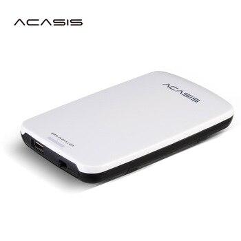 Бесплатная доставка на продажу 2,5 ''ACASIS Оригинал 40 ГБ хранения USB2.0 HDD мобильный жесткий диск внешний жесткий диск есть выключатель питания
