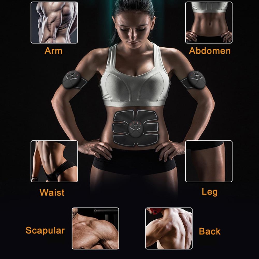 gdangel Stimulateurs /électriques EMS Muscle Stimulator Abdominal Hip Trainer /Électrique Vibreur Masseur Perte De Poids Relaxation Corps Minceur Ceinture Unisexe//Hanche Formateur