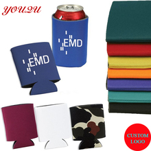Hot sell custom neoprene insulated can stubby holder high quality beer cooler bag with logo printing escrow accepted