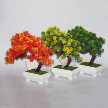 landscape tree simulation yingkesong small bonsai pot factory direct office decoration Home Furnishing garden plants quality
