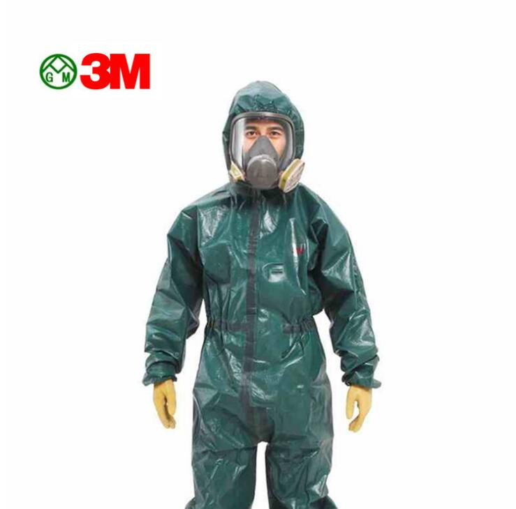 3M 4680 protective clothing chemical liquid chemical particles dustproof acid and alkali chemical protective clothing overalls
