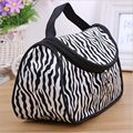 Portable Brush Lip Cosmetic Storage Toiletry Bags Fashion Zebra Pattern Lady Makeup Bag Women Travel Storage Organizer TF