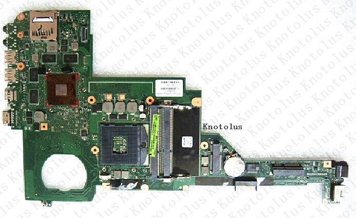 676759-501 For HP Pavilion DV4 DV4-5000 laptop motherboard 676759-001 SLJ8C HM76 Free Shipping 100% test ok 574680 001 1gb system board fit hp pavilion dv7 3089nr dv7 3000 series notebook pc motherboard 100% working