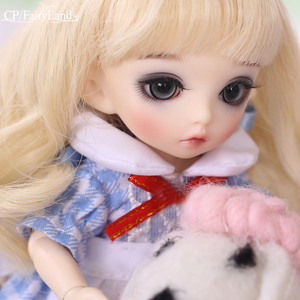 Image 1 - Free Shipping Pukifee Luna Doll BJD 1/8 Tiny Cute Ball Jointed Doll Resin Fairies Best Birthday Gift Toy For Girl Fairyland