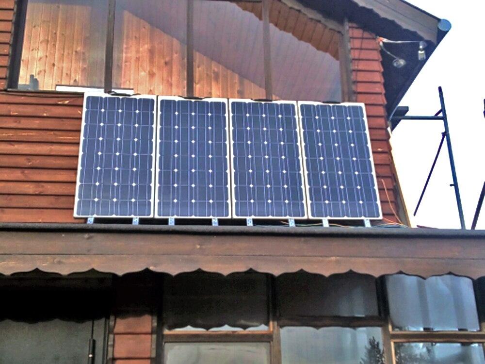 Cheap Price 2 Pcs 100w Solar Panel Semi Flexible 200w