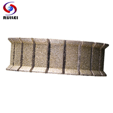 цена на RIJILEI 140mm Electroplated Diamond Edge Profile Wheel for Stone marble Edge Profile Making Machine Diamond Grinding Wheel DE01