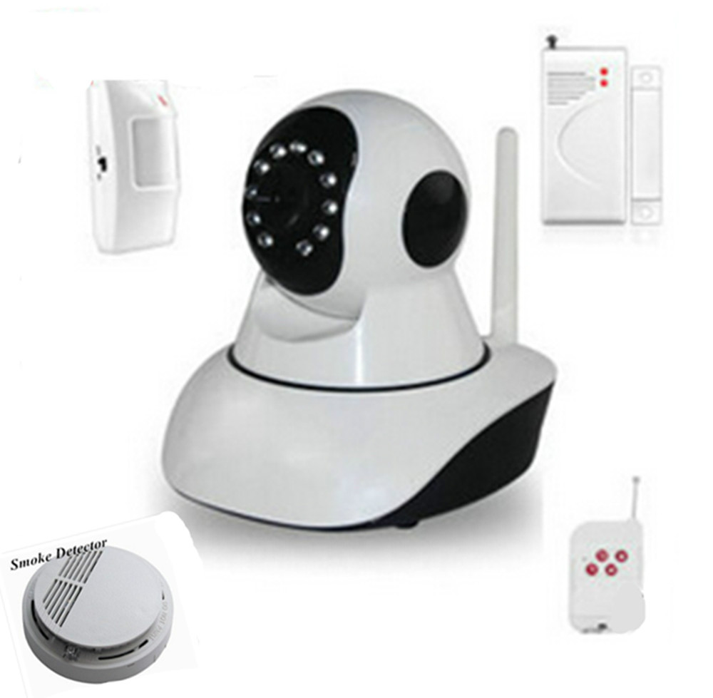 720P IP Camera With Alarm Function Wireless Intercom Mobile Remote Control