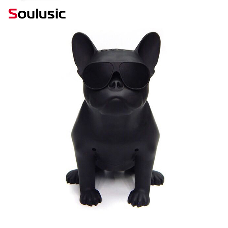 Soulusic Big Size Bull Dog Wireless Bluetooth Speaker Bulldog Outdoor Portable HIFI Bass USB AUX Nano Subwoofer For HouseholdSoulusic Big Size Bull Dog Wireless Bluetooth Speaker Bulldog Outdoor Portable HIFI Bass USB AUX Nano Subwoofer For Household