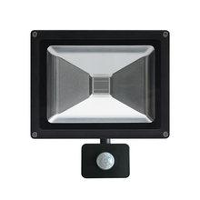 Pir датчик движения 10 Вт 20 30 50 uv led черный свет Прожектор