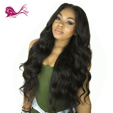 Eayon Hair Brazilian Body Wave 360 Lace Frontal Human Wigs With Baby 130% Density Pre Plucked For Black Women Remy