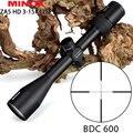 MINOX ZA 5 HD 3-15x42 SF BDC 600 охотничьи винтовки для рыбалки с регулировкой по боковым параллаксу с длинным рельефом для глаз тактический оптический п...