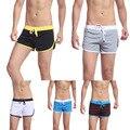 La alta Calidad Del Boxeador Escritos de Los Hombres de Pantalones Para Hombre de Troncos de Baño Ropa Deportiva Sexy Short Beach Summer Swimsuit ISP