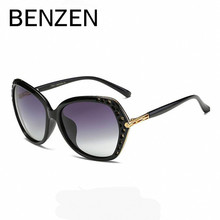 BENZEN Polarized Sunglasses Women Brand Designe Female Sun Glasses Retro Ladies Shades Gafas Accessories Black With Case 6228