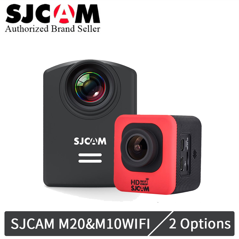 Original SJCAM M20 Gyro Action Helmet Sports DV Camera Helmet Cam 4K/24fps 2K/30fps NTK96660 16MP mini wifi cam sports DV Kamera