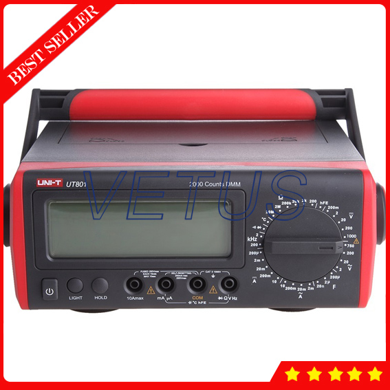 UT801 Bench Type Low Price Digital Multimeter with LCD Display  uni t ut90c ut 90c low price best multimeter digital with lcd display