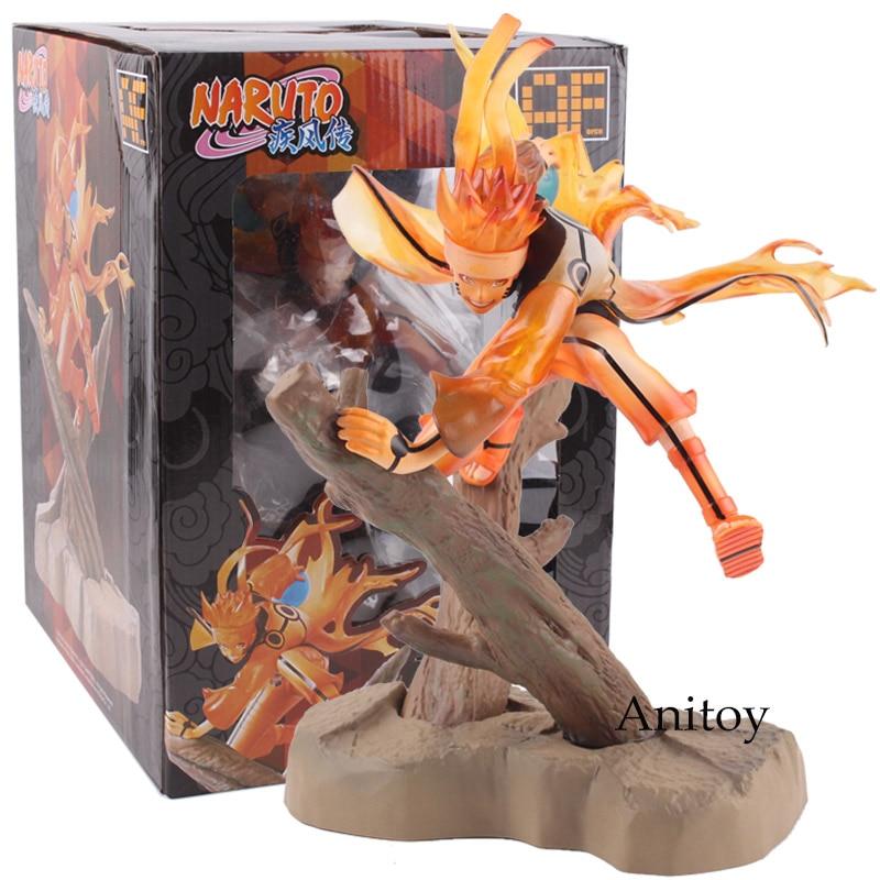 Anime Naruto Shippuden Uzumaki Naruto Ootutuki Hagoromo Ver. 1/8 Scale Figure PVC Action Figure Collectible Model Toys 26cm