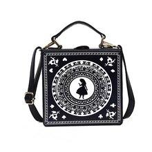 c39e9c4dd8cc Новая Индивидуальная сумка с цепочкой, с принтом звезды, маленькая сумка в  коробке, Женская Ретро маленькая сумка через плечо