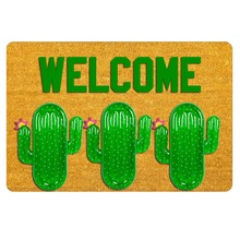 front door Mats Entrance Mat Bitch Cactus Welcome 18x30 inch entrance outdoor decor indoor funny floor mats