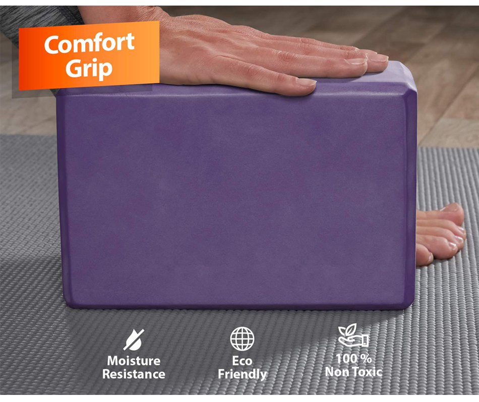 Yoga Foam Block-Comfort Grip