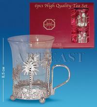 AR-1208 Чайный набор серебр. (Юнион)