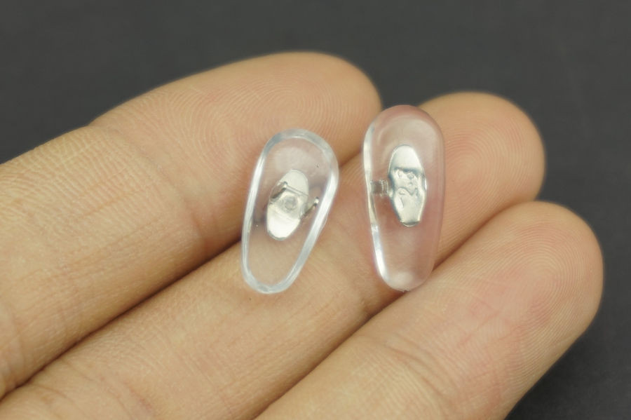 aa448a6316 2 PCS Lot Free Shipping Silicone Aviator Glasses Eyeglass Sunglasses Nose  Pads For RB Clip on-in Tool Parts from Tools on Aliexpress.com