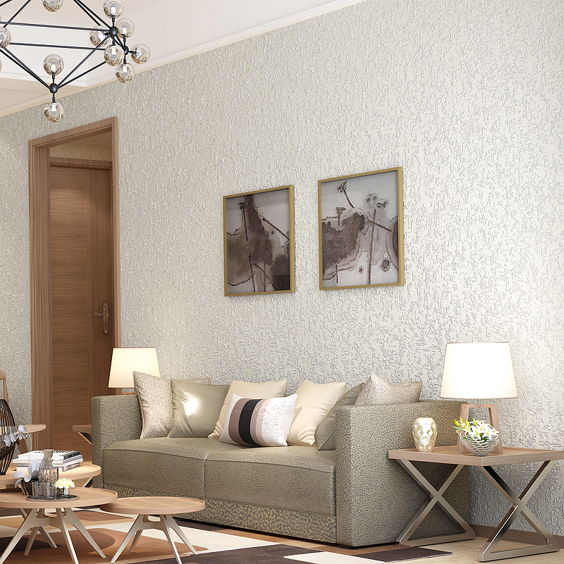 Home Decor Solid Color White Non-Woven Wallpaper Modern Simple Living Room TV Background Wall Covering Wallpaper Bedroom WallsHome Decor Solid Color White Non-Woven Wallpaper Modern Simple Living Room TV Background Wall Covering Wallpaper Bedroom Walls