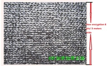 New encryption 6 pin 3 meters wide/shade net sun shading new cooling heat