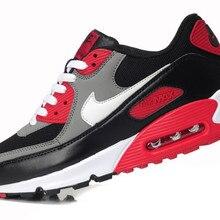 best website fe586 751c9 Nueva llegada Original Nike Air Max 90 transpirables de los hombres  corriendo amortiguación zapatos esencial pista
