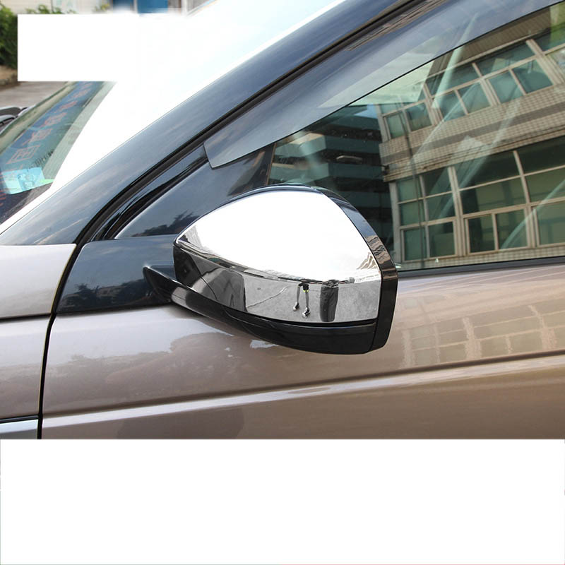 lsrtw2017 abs car rearview cover chrome for land rover discovery sport 2014 2015 2016 2017 2018 2019