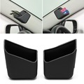 2pcs Universal Car Auto Accessories Glasses Organizer Storage Box Holder Black
