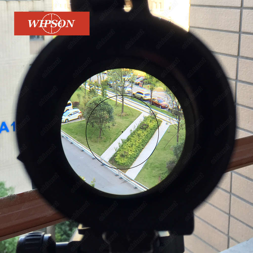 WIPSON Swarovskl 1-6X24IR Compact Riflescope F101 Circle Red Dot Optical Sights Glass Etched Reticle Shooting Rifle Scope tactical optical sights 1 6x24irz3 f101 circle dot punctuate differentiation sight glass reticle rifle scope hunting riflescope