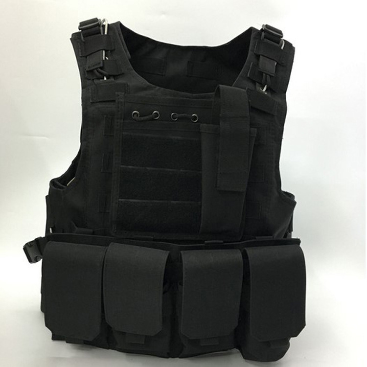 Tactical Safety vest outdoor products seal cs Counterterrorism Military Protective Training combat Hunting vest protective outdoor war game military skull half face shield mask black