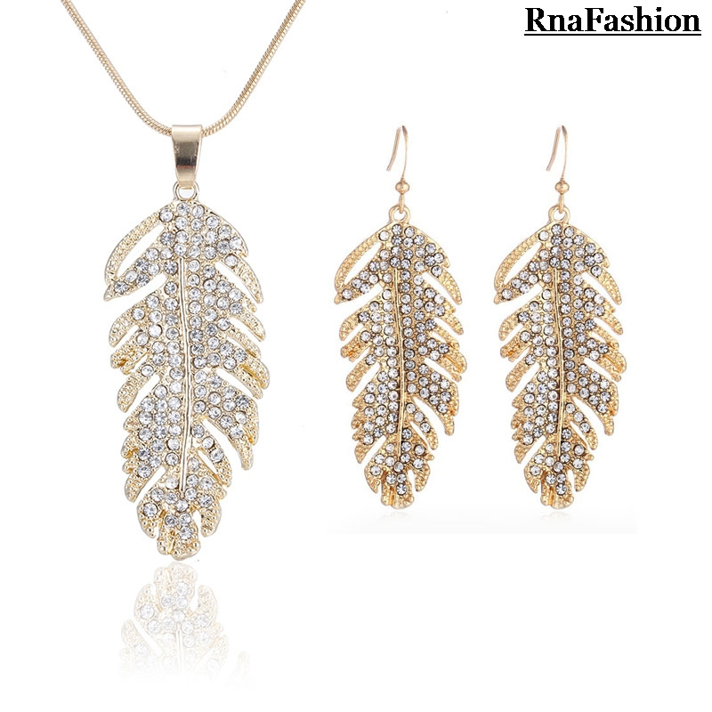 2014 Jewelry Sets Feather...
