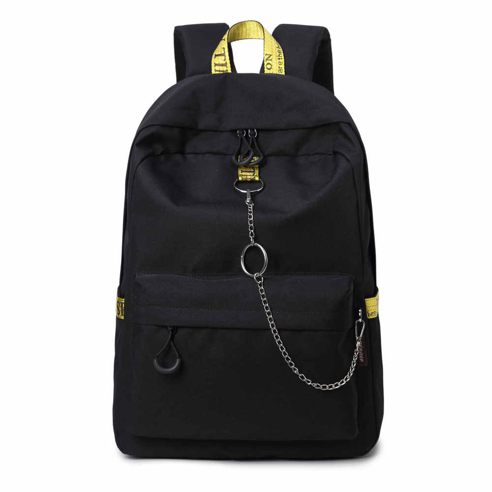 3010436f3d3b ... Fashion Waterproof Fabric Casual Adult Daily Backpack College Girls  School Backpack Boys Laptop Dayback Lovers Travel ...