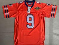 The Waterboy Football Jersey Stitched 9 Bobby Boucher 50th Anniversary Movie Jerseys Orange S 3XL Free