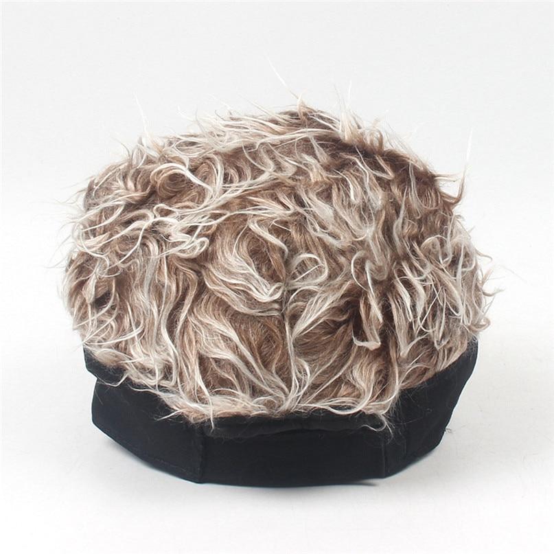 Wig Tennis Cap Parent-child Hat Street Trend Cap Outdoor Shade Wig baseball cap parent-child hat street trend cap #2f20 (12)