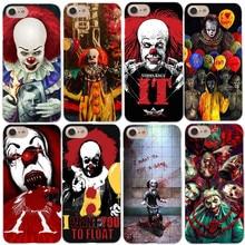 Здесь можно купить  Pennywise Clown Horror Hard Phone Case For iPhone X 8 8Plus It pennywise Cover for iPhone 5 5S SE 6 6S Plus 7 7Plus