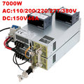 7000 W 150 V voeding 150 V 46A 0-5 V analoge signaal controle 0-150 V verstelbare voeding 150 V 7000 W AC naar DC ON/OFF