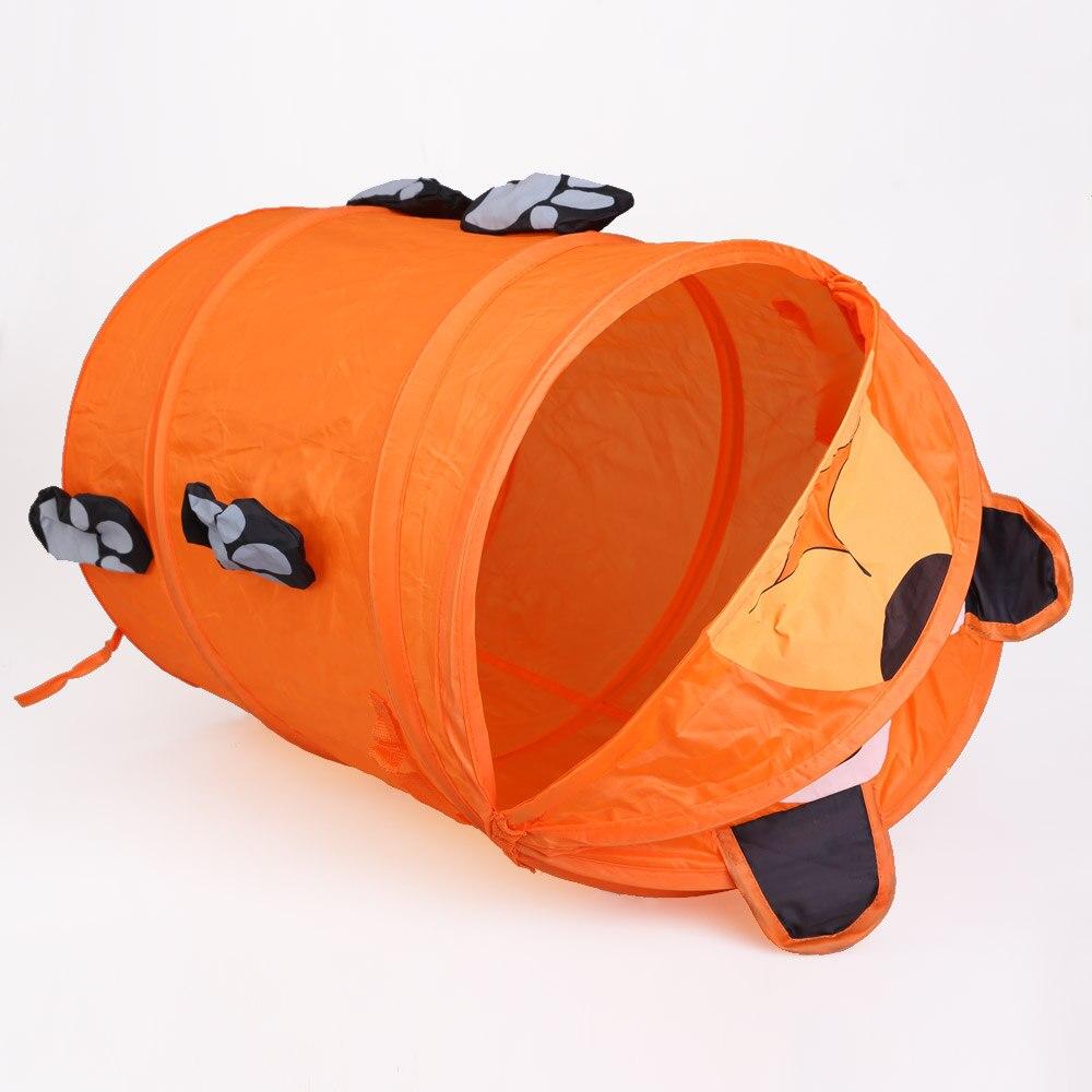 Kotak penyimpanan Mainan Wadah Mainan Keranjang Lipat Ember Silinder - Organisasi dan penyimpanan di rumah - Foto 5